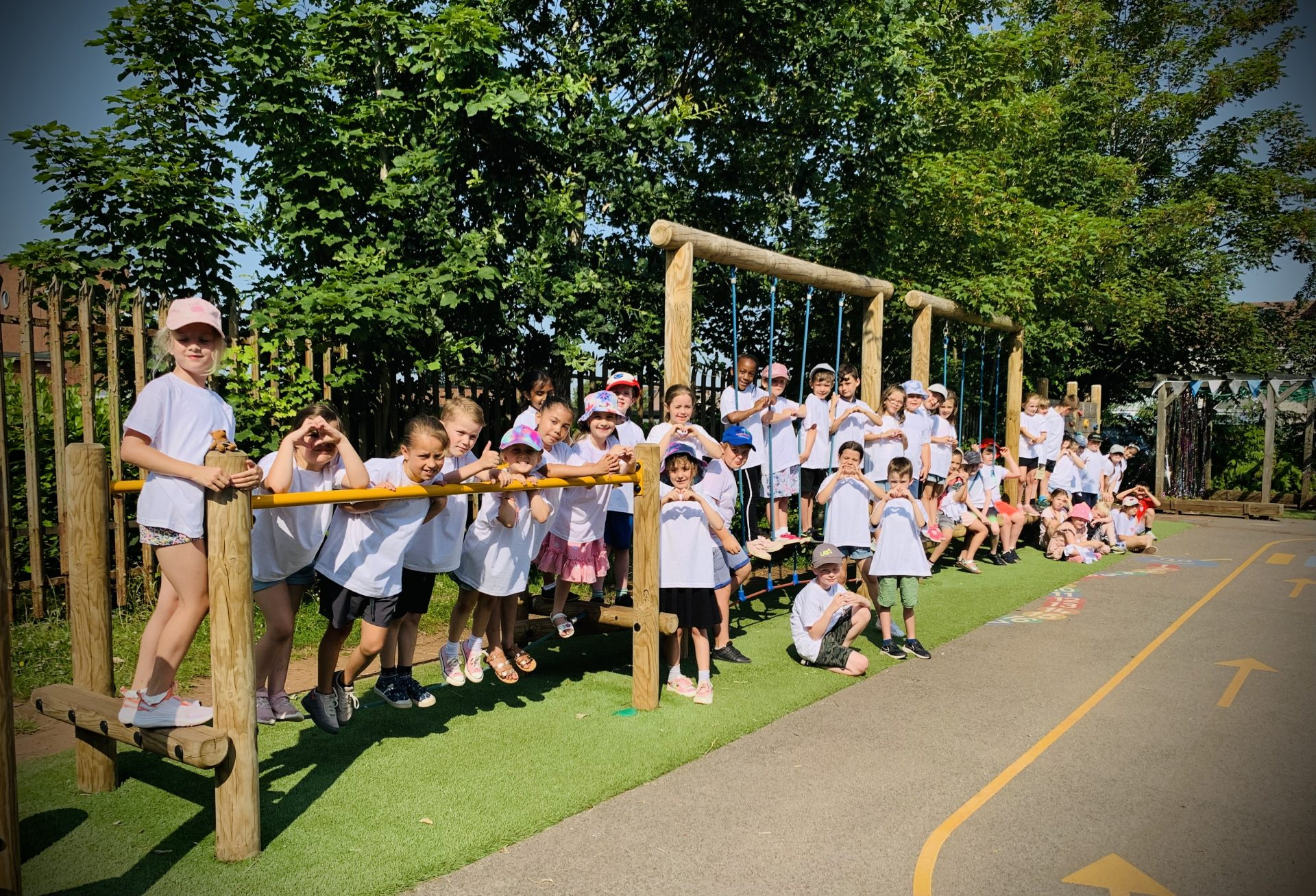 We say Farewell and  Good Luck to our Year 2 Leavers