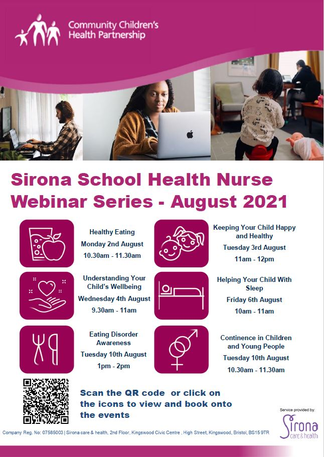 School Health Nurse Webinar Series